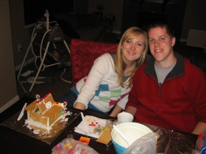 Shanna and Brad gingerbread