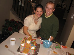 Elise and Jeffrey gingerbread