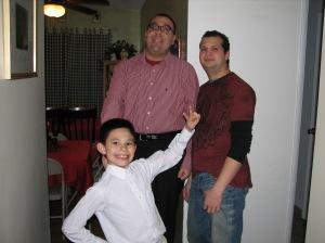 Anthony, Mario, Nelson